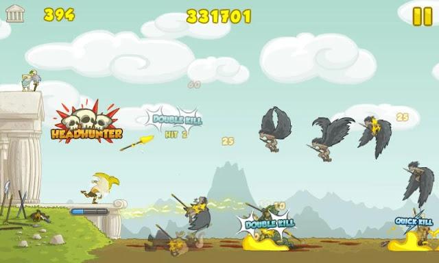 Screenshot Clash of the Olympians - Apcoid