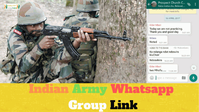 99+ Best Indian Army Whatsapp Group Link List For Indians