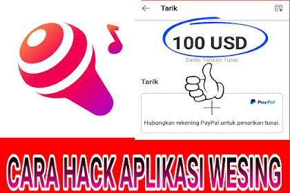 Trik Nuyul Aplikasi Wesing Mod Dapatkan $100 Gratis 2019