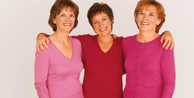 Die Schwestern Sehen Auffallend Gesund Teil, Weil Sie Jetzt Etwa Die Hälfte  Ihres Früheren Größen Sind. Lee Ann McAndrew (links Auf Dem Foto Oben), ...