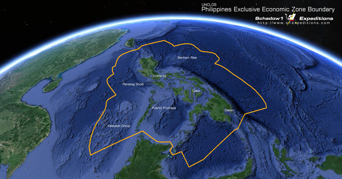 Philippines EEZ Boundary - UNCLOS - Schadow1 Expeditions