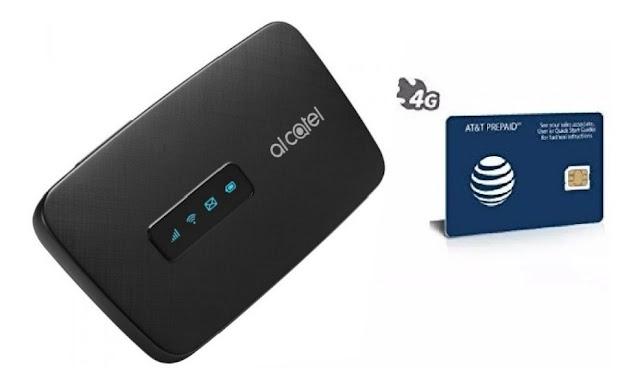 Hotspot Alcatel Link Zone 4G LTE MW41 Free Unlock