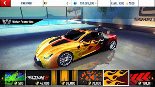 Asphalt 8 v2.5.0k Mod Apk + Data (free shopping)