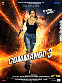 Commando 3 First Look Poster 4