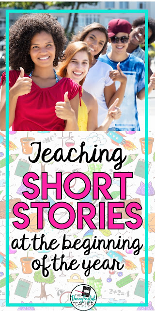 Teaching short stories at the beginning of the year