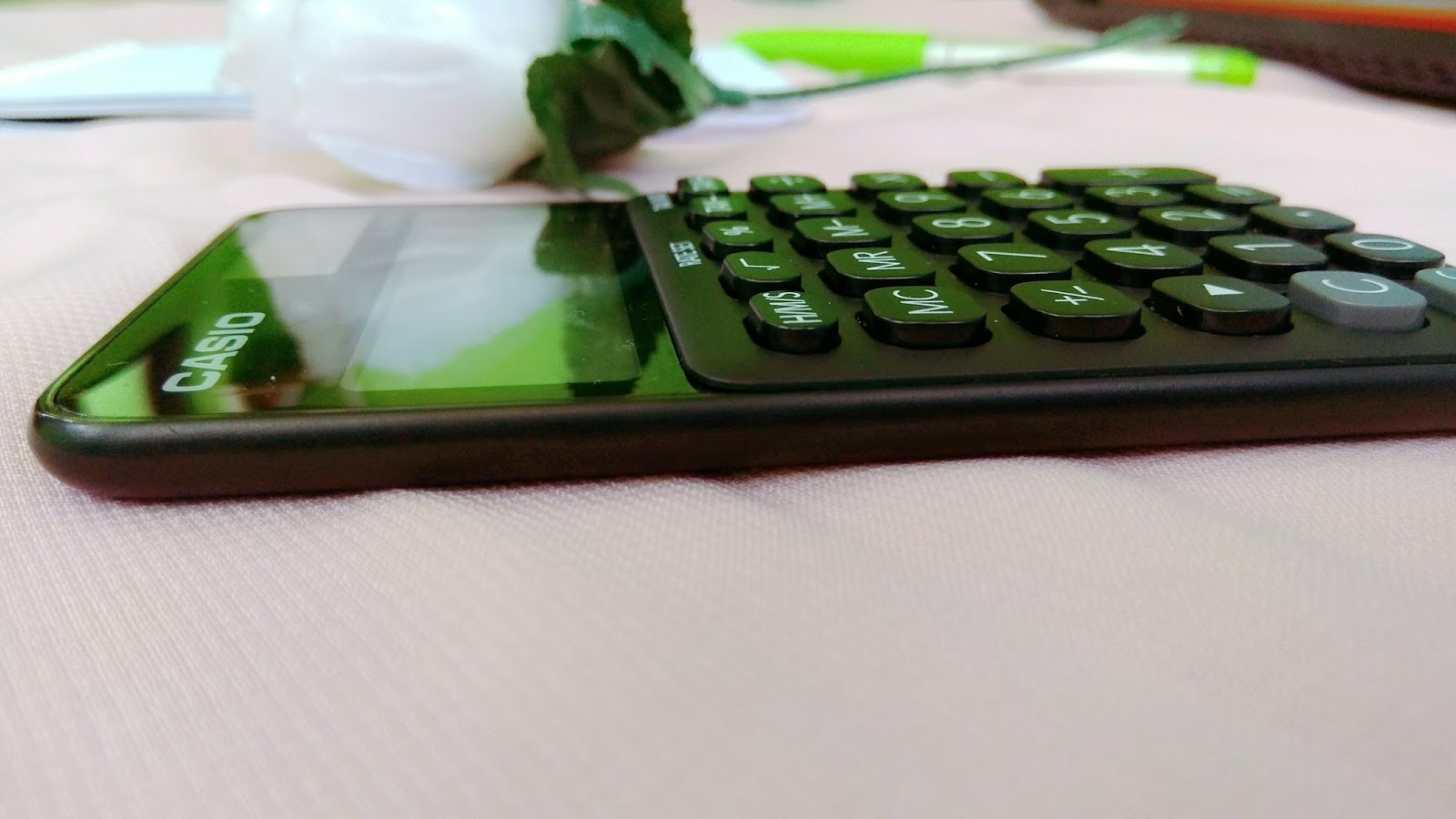 My Mood Booster With Casio Colorful Calculator Sweet Home Sl 310uc Orange Yang Super Slim Dan Ringan