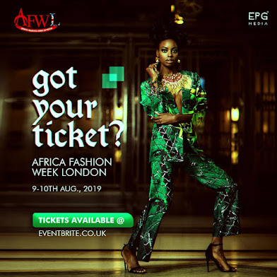 AFRICA FASHION WEEK LONDON IS BACK AT ITS 9TH EDITION!!!
