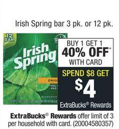 Irish Spring Bar Soap 3-pack