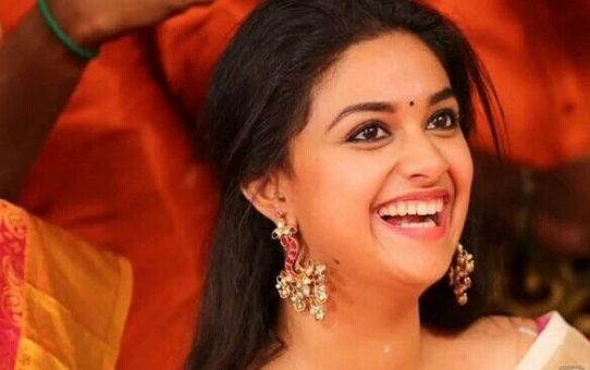 South Indian Actress Keerthi Suresh smile collection