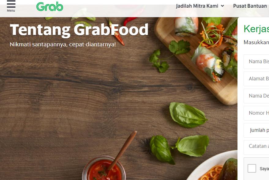 Cara Cepat Daftar Grabfood Terbaru 2020 Go Bizz