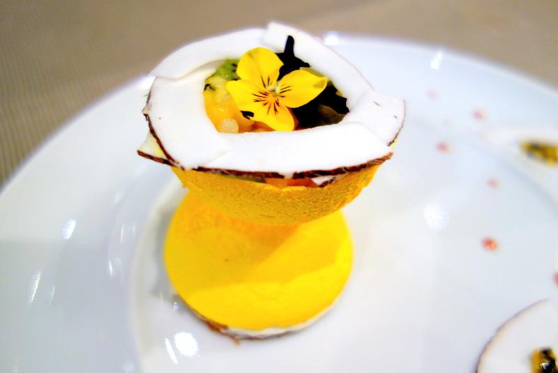 Mes Adresses : Les desserts du Céladon imaginés par le chef ...