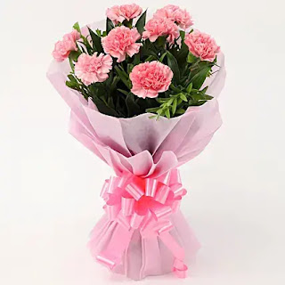 باقة ورد زهري جميلة جدا ، صور باقة ورد