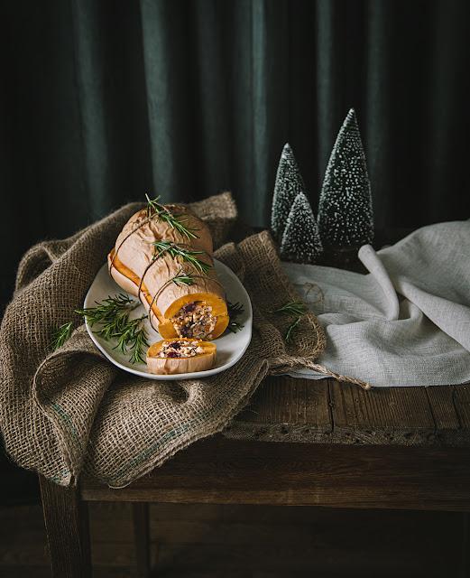 Recette Butternut de Noël Vegan
