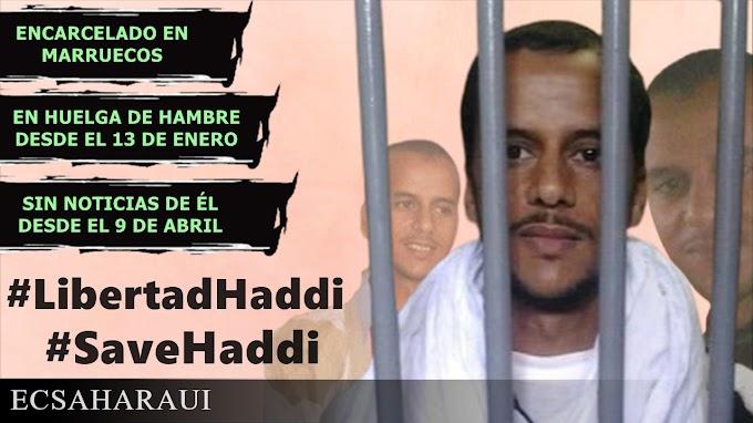Mohamed Lamin Haddi; el largo camino de un joven saharaui sediento de libertad.