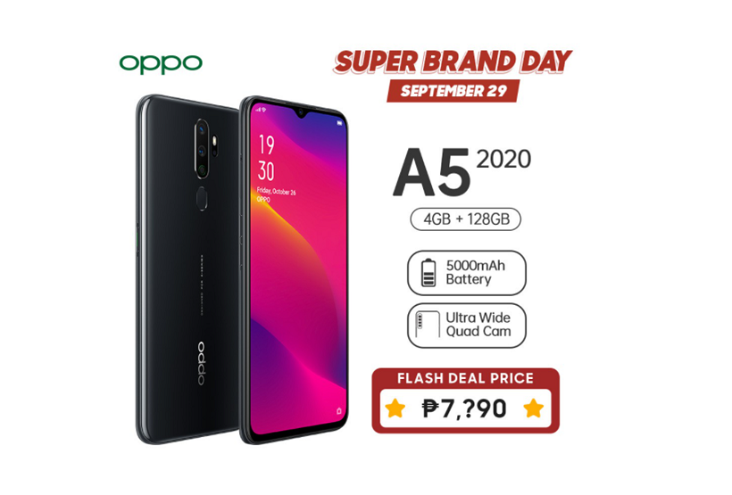 OPPO A50 2020 Shopee Super Brand Sale