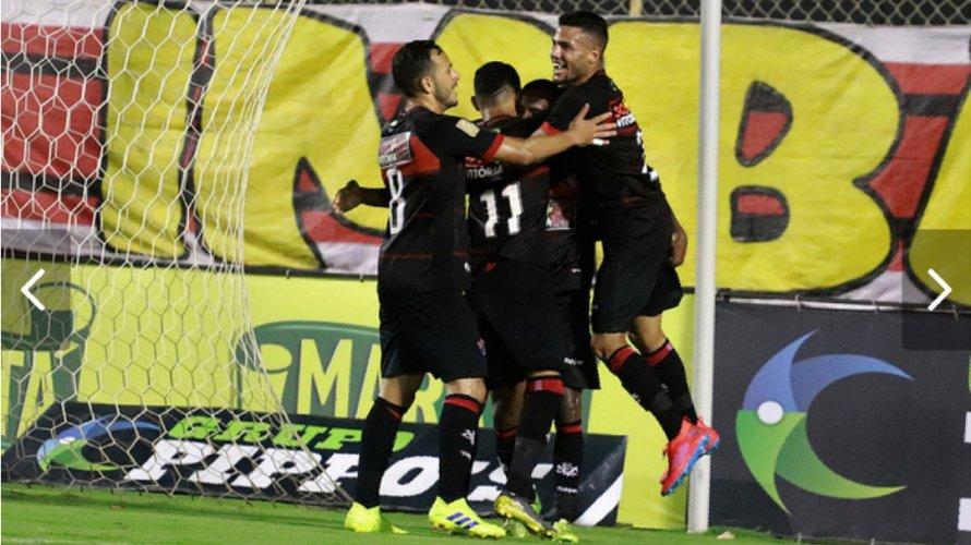 4e6d2f4a1ea70 Copa do Nordeste  Vitória sai na frente