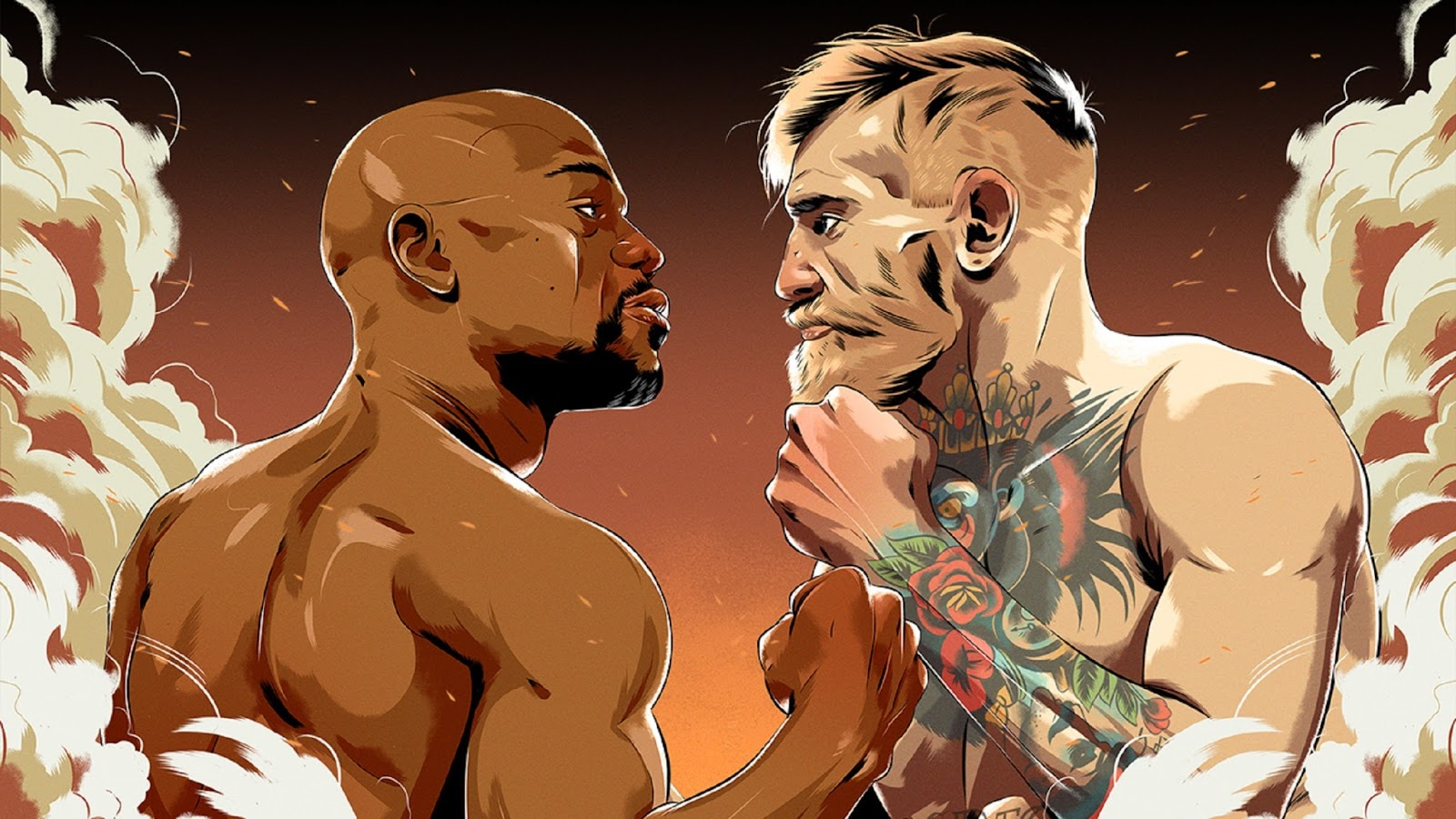 FLOYD MAYWEATHER VS. CONOR MCGREGOR 19
