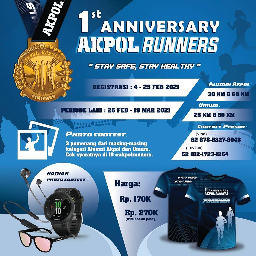 Akpol Runners 1st Anniversary • 2021