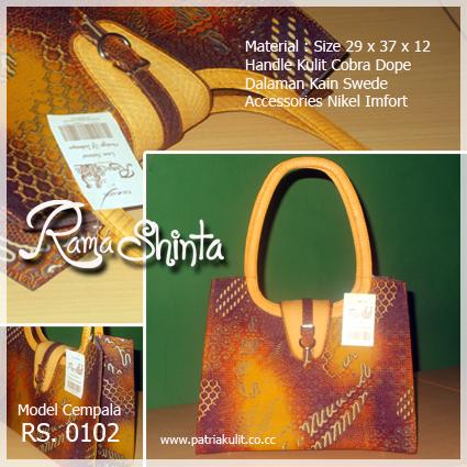 Ready Tas Batik Kombinasi Kulit Cobra Dop Harga Rp. 650.000 5e90e41409