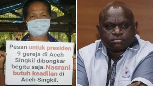 Soal 9 Gereja di Aceh Dibongkar, Natalius Pigai: 6 Tahun Jokowi Berkuasa