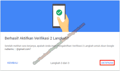 verifikasi 2 langkah akun coc baru
