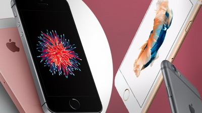 Perbandingan iPhone SE vs. iPhone 6s