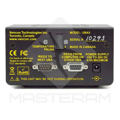 Разъемы подключения анализатора батарей Vencon UBA5