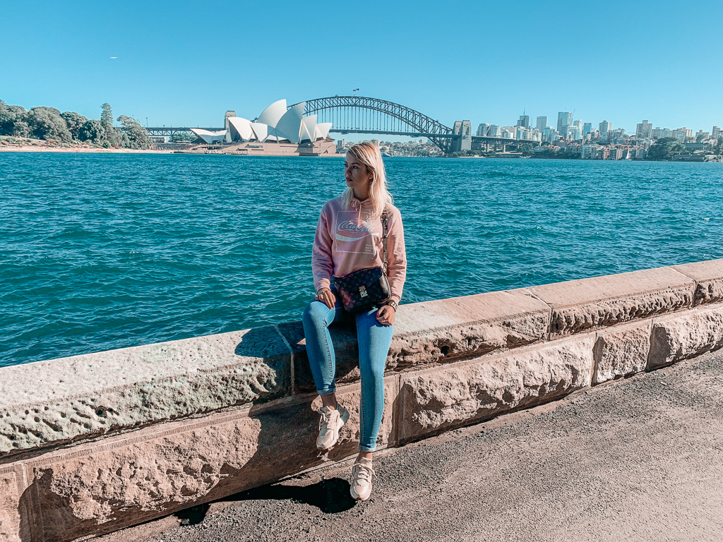 the Mrs Macquarie's Chair viewing point