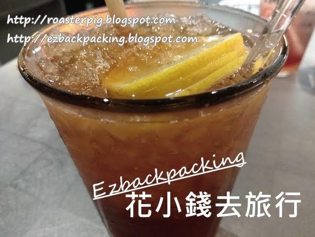 炑八下午茶:凍檸茶