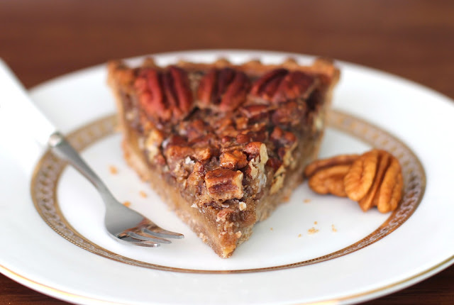 This Healthy Maple Pecan Pie is so decadent and rich, you'd never know it's made without the corn syrup, refined sugar, butter, and cream!