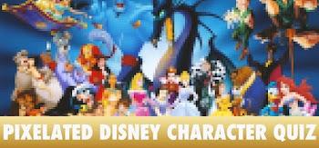 Pixelated Disney Character Quiz Answers 100% Score QuizDiva