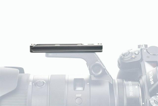 Hejnar H132QD Lens Plate on Nikon Z 70-200mm f2.8 Lens foot