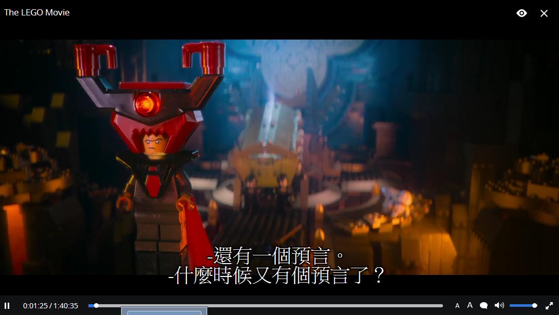 angp's Some things: [Popcorn Time] 中文之美! 新增設定字幕字體功能