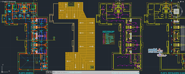 Mini Hospital Project in AutoCAD
