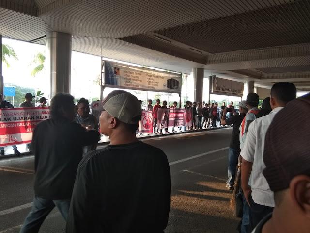 Presidium #2019GantiPresiden Sebut Pelaku Persekusi di Batam adalah Projo dan Banser