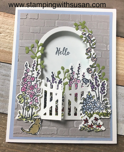 Stampin' Up!, Grace's Garden, www.stampingwithsusan.com, Susan LaCroix,