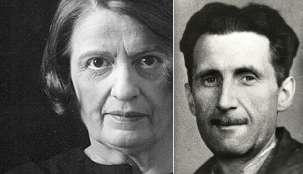 gearge orwell and ayn rand George orwell has always been a symbol of the anti-socialism of the west he is most well known for bashing the soviet union with works of fiction like ayn rand both.