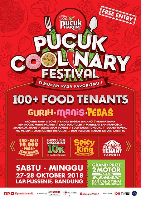 festival kuliner terbesar di bandung, rara febtarina