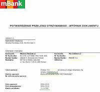PulsReklamy - dowód wypłaty 2016