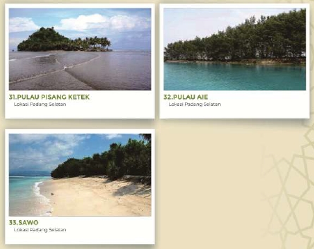 Infografis MTQ Nasional ke-XXVIII: Objek Wisata Pantai dan Pulau di Kota Padang, Sumatera Barat