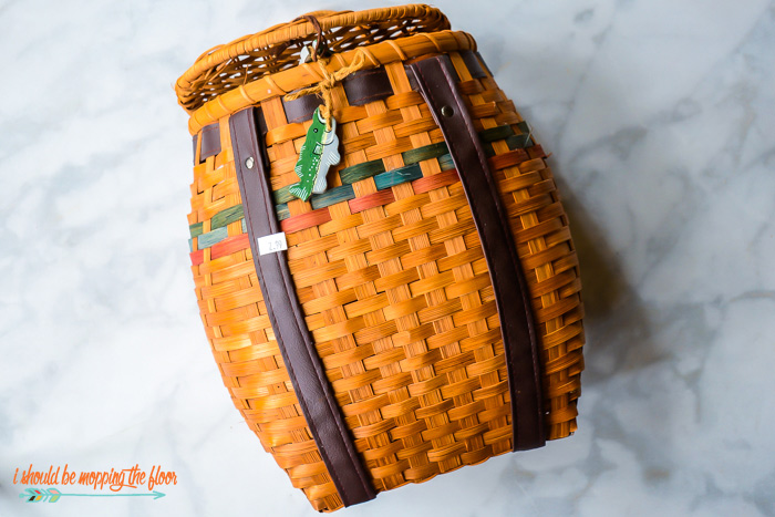 Adirondack Fishing Basket