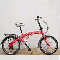 20 senator folding bike