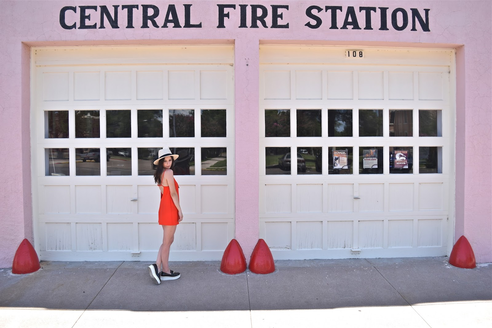 Central Fire Station in Marfa, Texas
