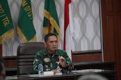 Samakan Persepsi, Korem 071/Wijayakusuma Gelar Rakor Serbuan Teritorial