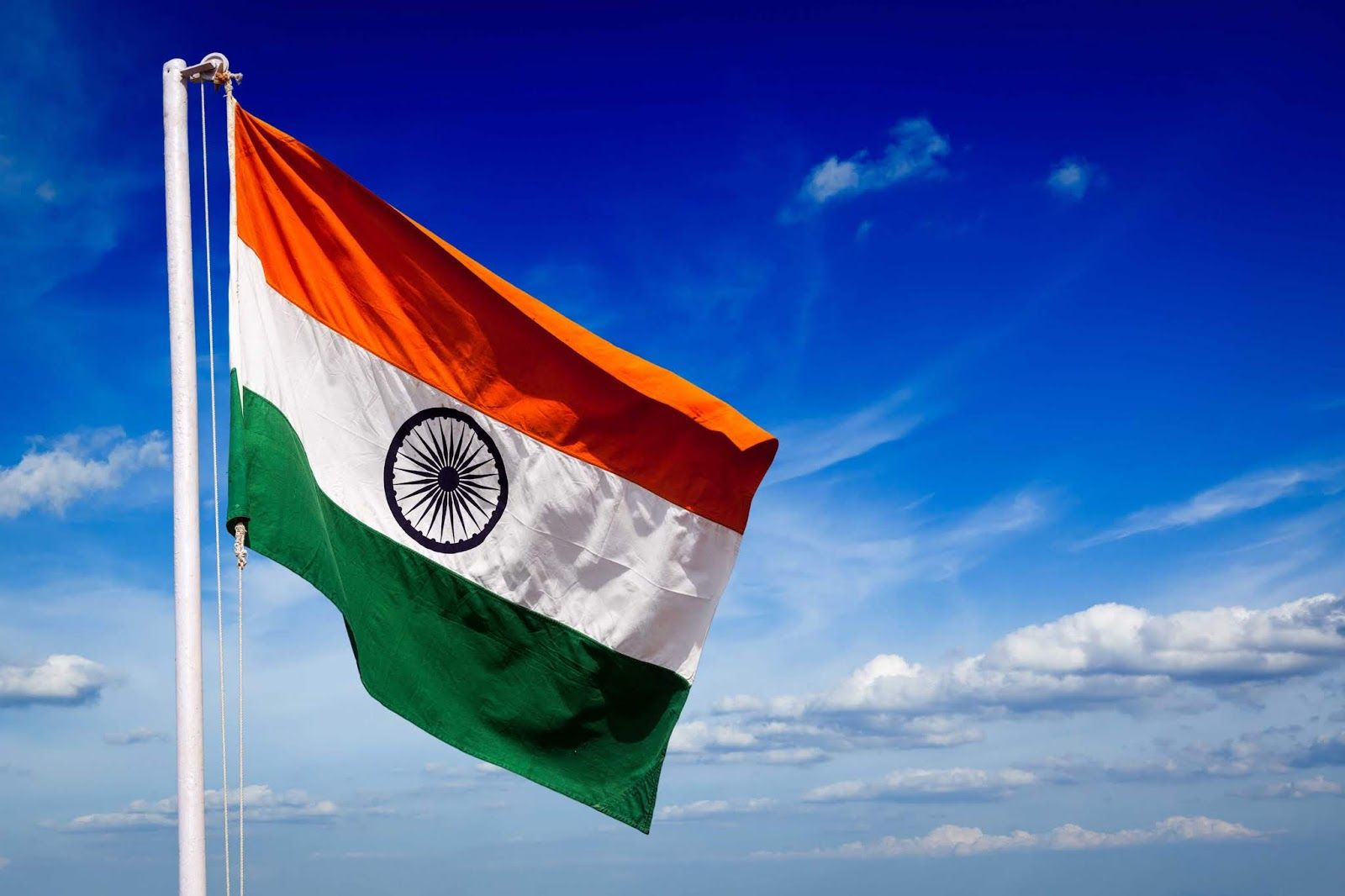 Indian Flag 4k Wallpaper: Happy Independence Day Images 2018: Indian Flag Wallpapers
