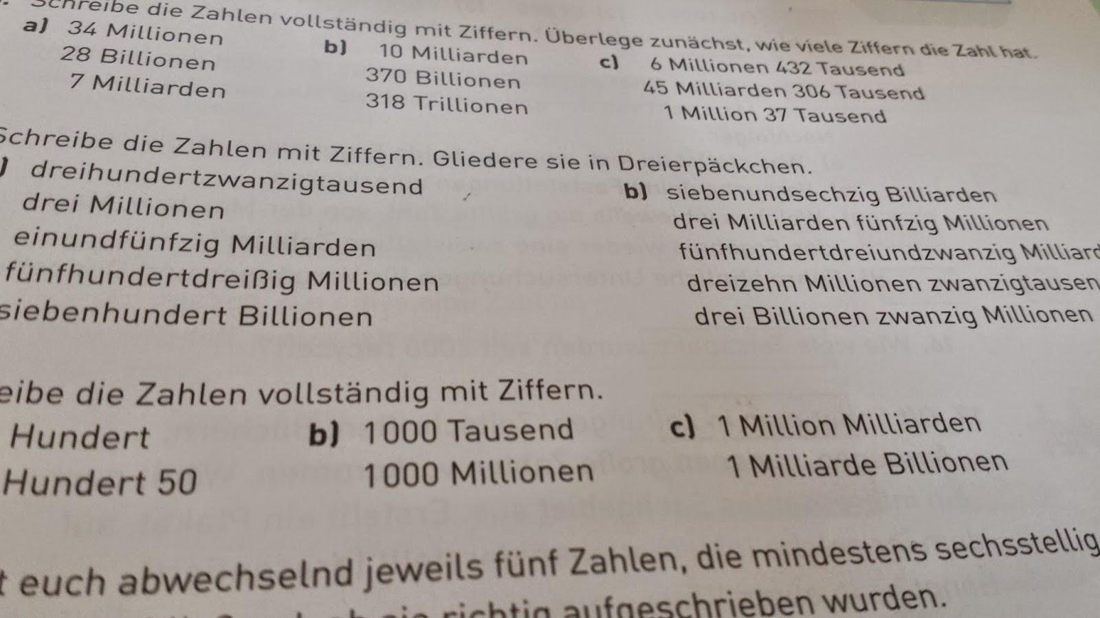 millionen milliarden billionen
