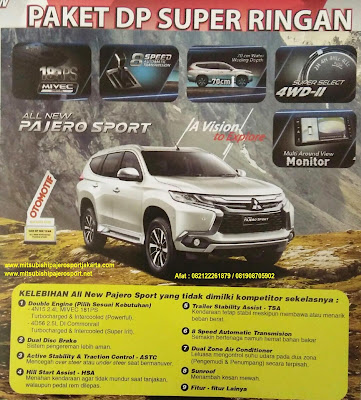 promo Terbaru All New Pajero Sport Dakar - Exceed 2016