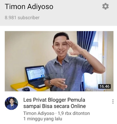 mastimon guru les privat terbaik blogger indonesia