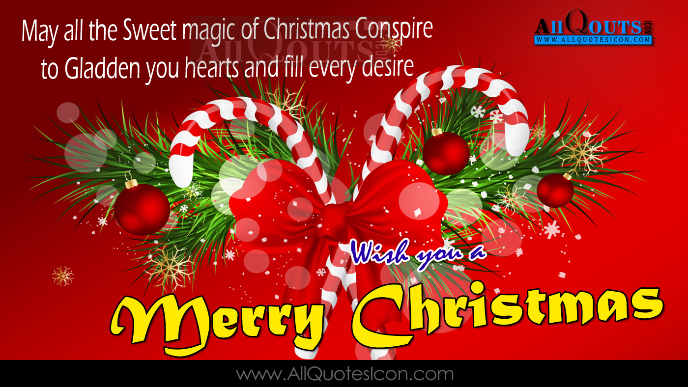 Merry Christmas Quotations HD Wallpapers Happy Christmas English Quotes  Wishe.