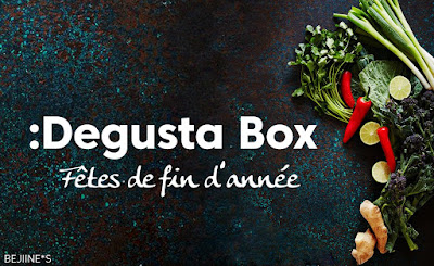 """DegustaBox """"Fêtes de fin d'Année"""""""